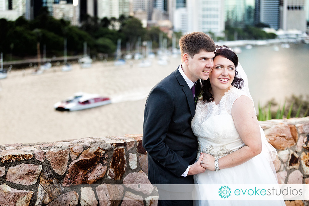 Wedding photography Kangaroo Point Cliffs