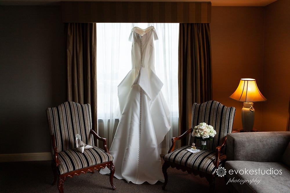 Wedding dress at stamford plaza