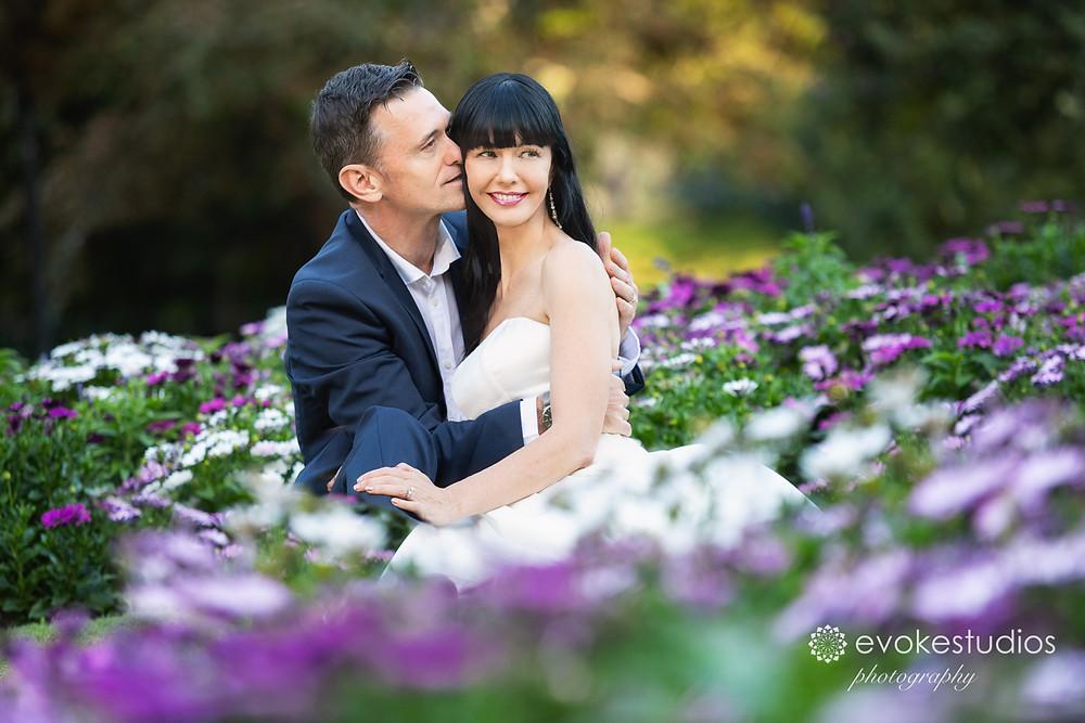 Wedding photos evoke studios