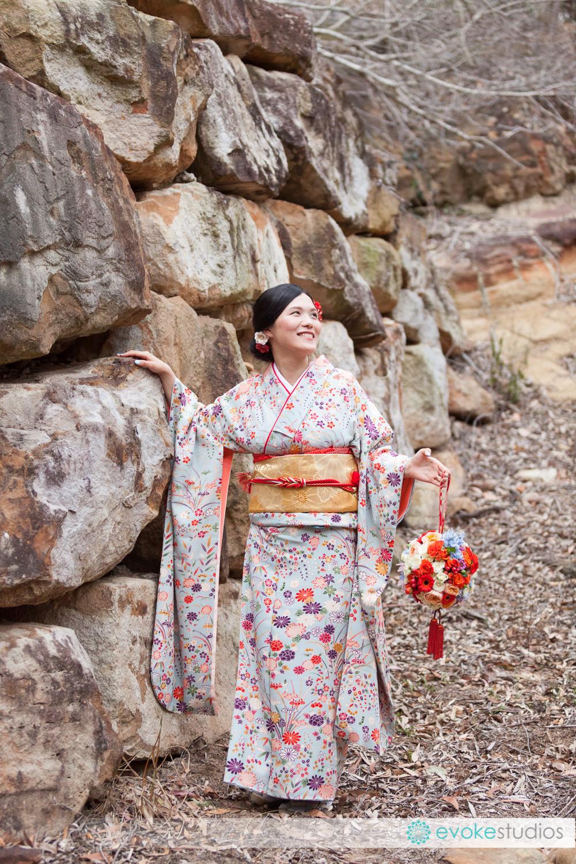 Bride Brisbane Kimono