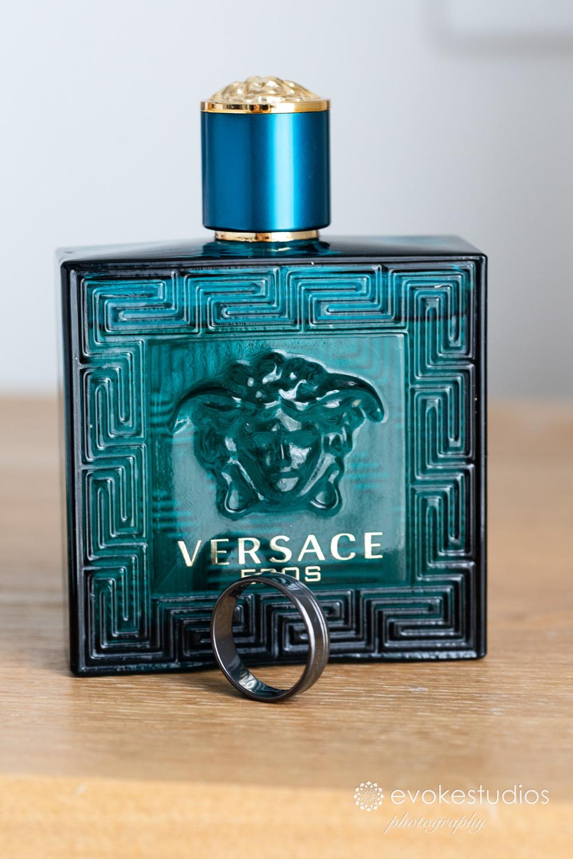 Versace at wedding