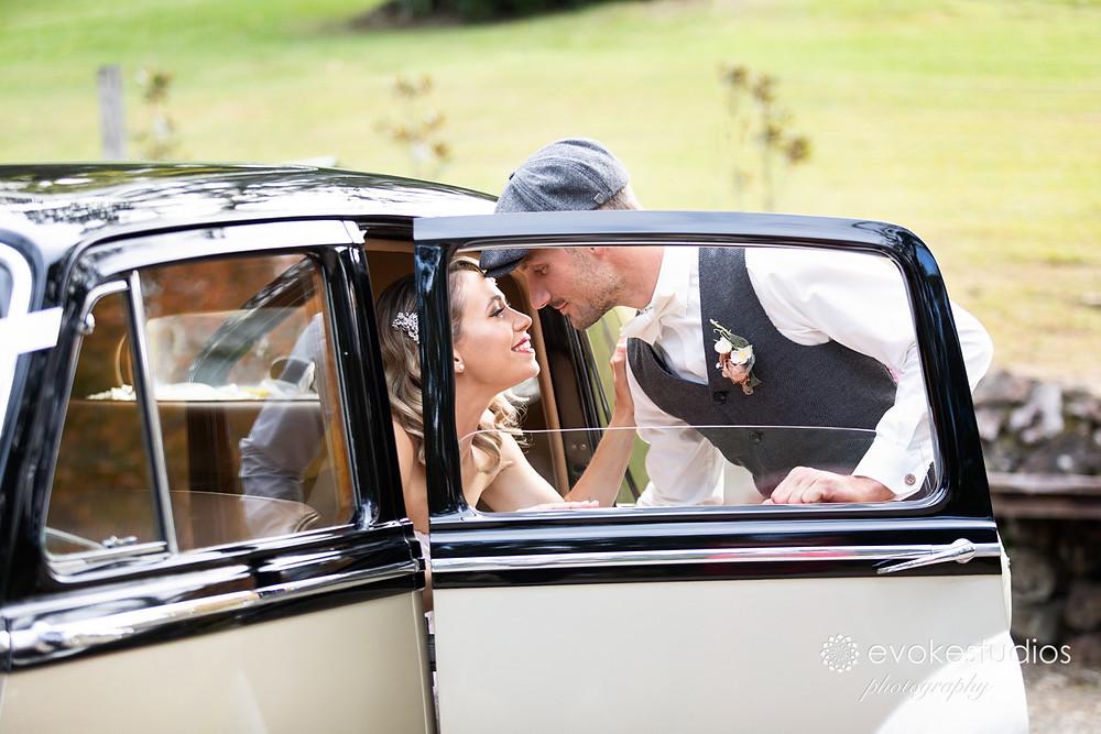 Wedding cars photography