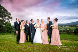 Herv & Katrina's Topiaries Wedding