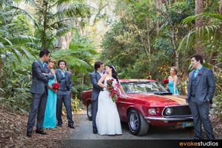 Andrew & Rebecca's Mt Tamborine Wedding