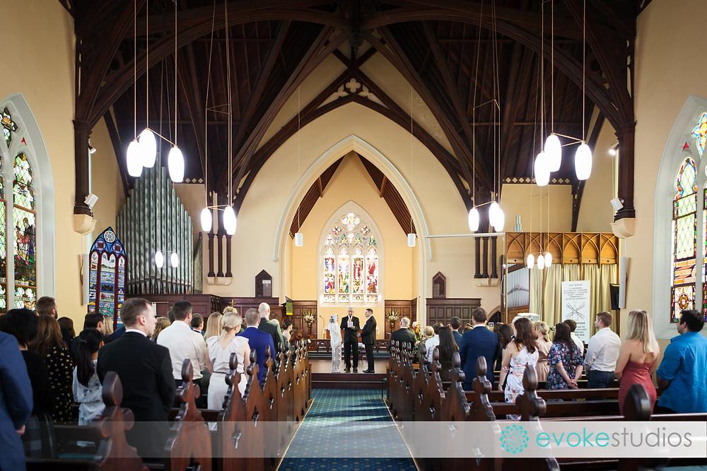 Wedding ceremony St Andrews South Brisbane