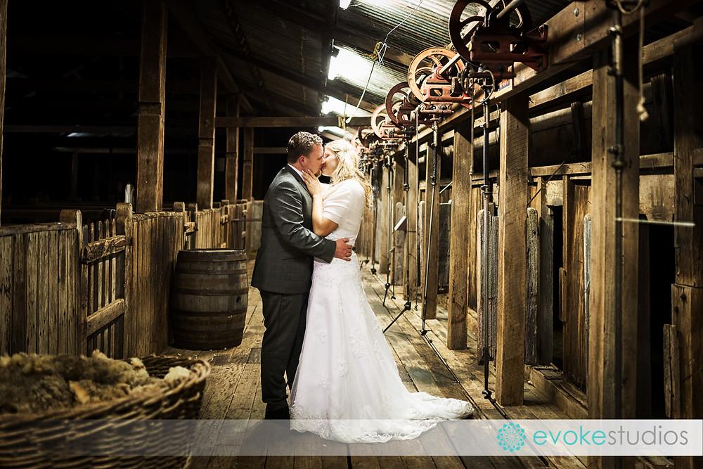 Wooshed wedding