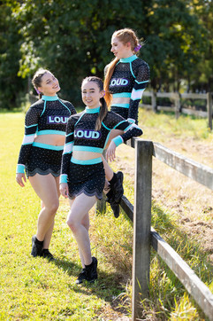 Brisbane cheer athlete photo session
