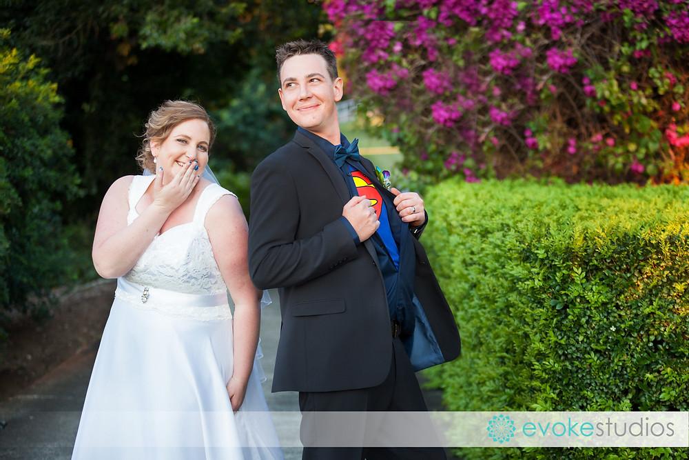 Super hero groom
