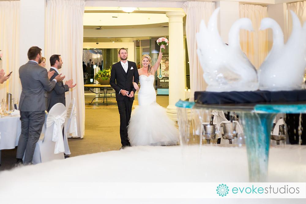 Ice sculpture wedding