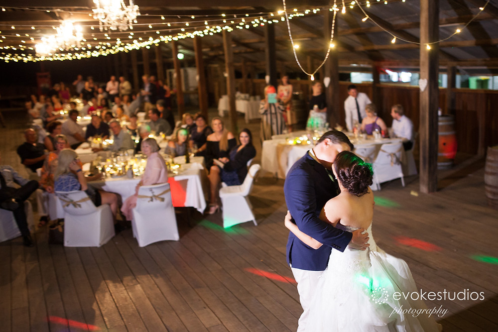 Woolshed country wedding venue