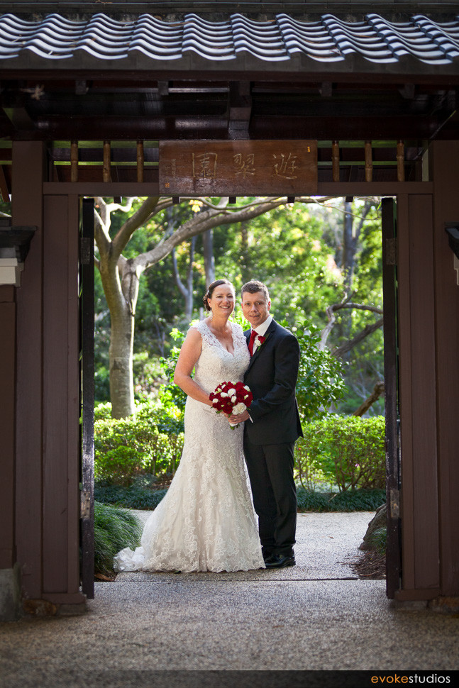 Botanical wedding photos