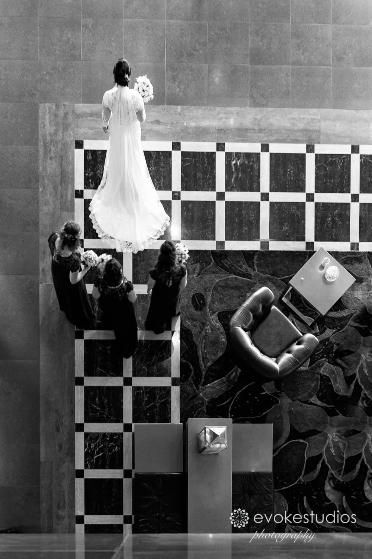 Bride on way