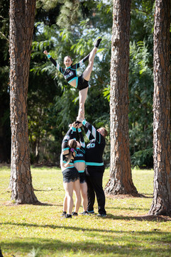 Brisbane cheer athlete photo location session