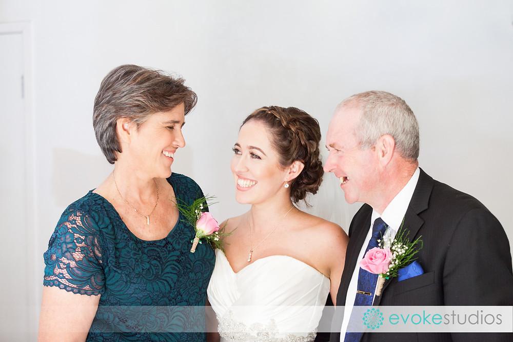 Mum & dad on wedding day