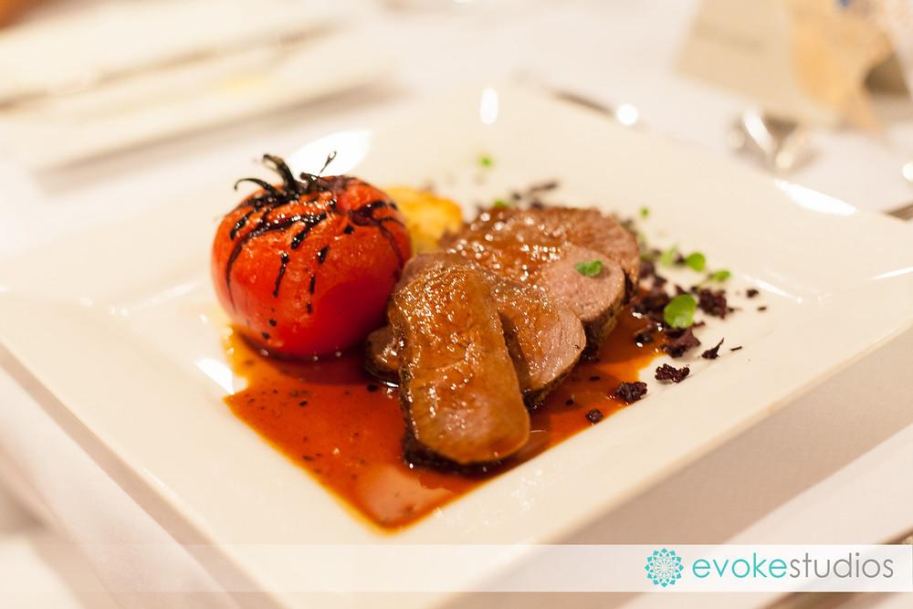 Wedding food Maleny Manor