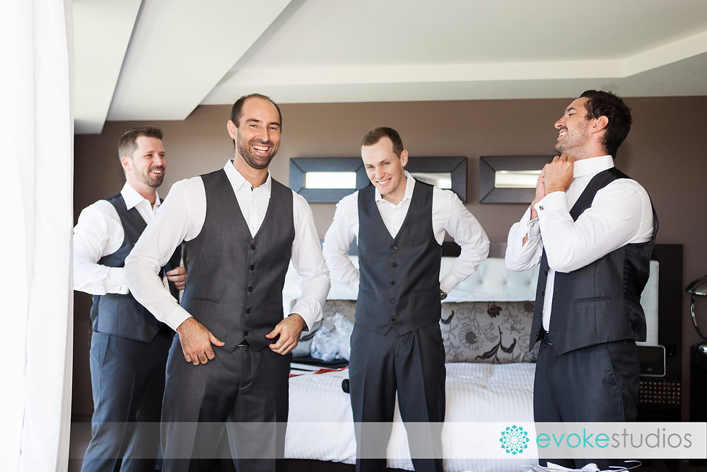Groom preperations
