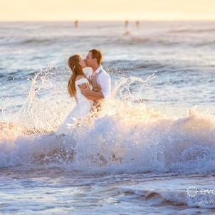 Ben & Michelle's Beach Wedding