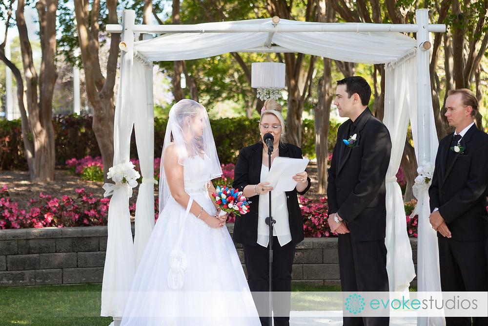 Wedding ceremony Roma St Parklands