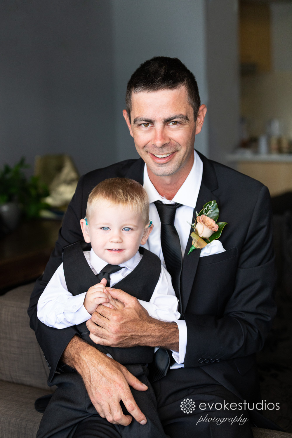 daddy with groom