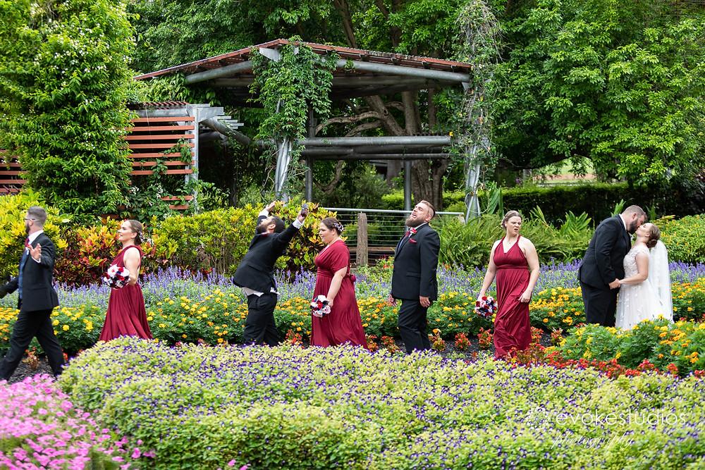 Roma St parklands weddings