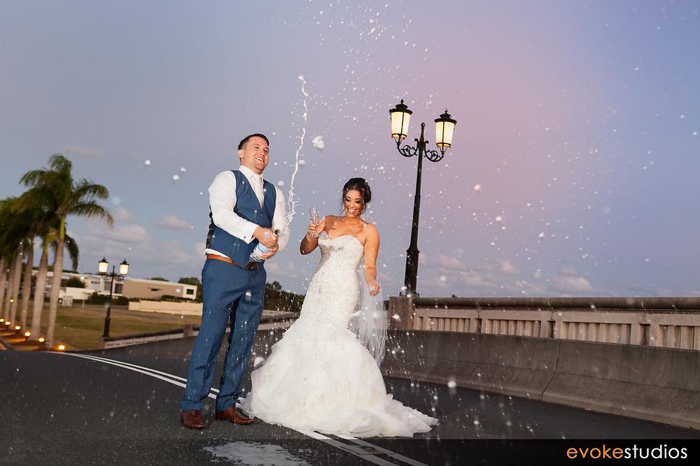 Wedding champaigne