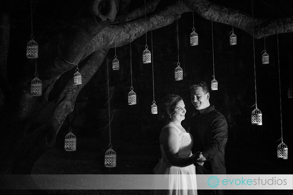 Night shots, wedding phtoography