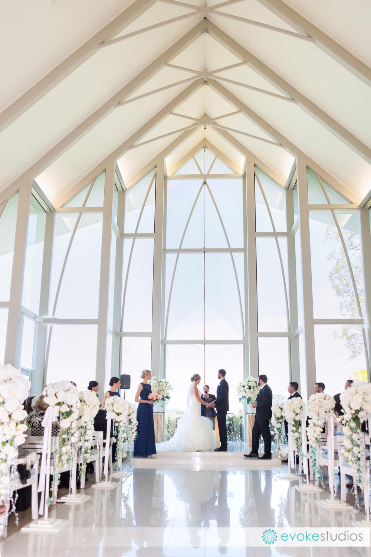 Sanctuary Cove wedding chapel
