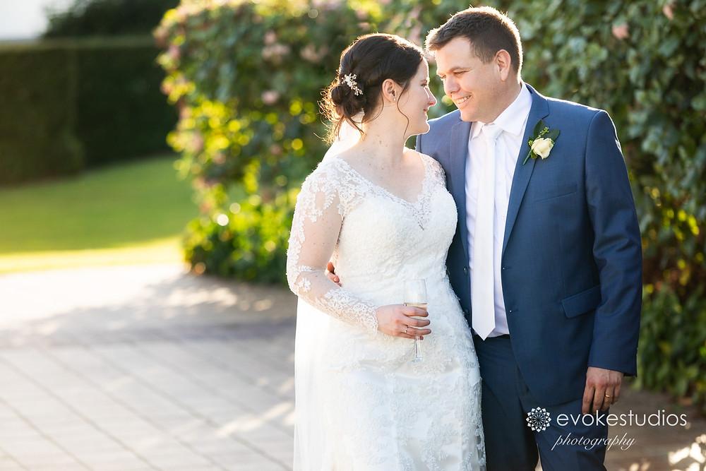 Dockside landing wedding photographer
