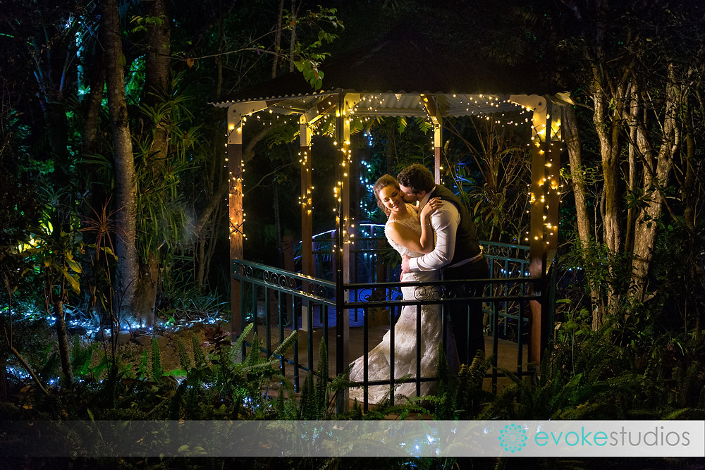 Fairy light night photography