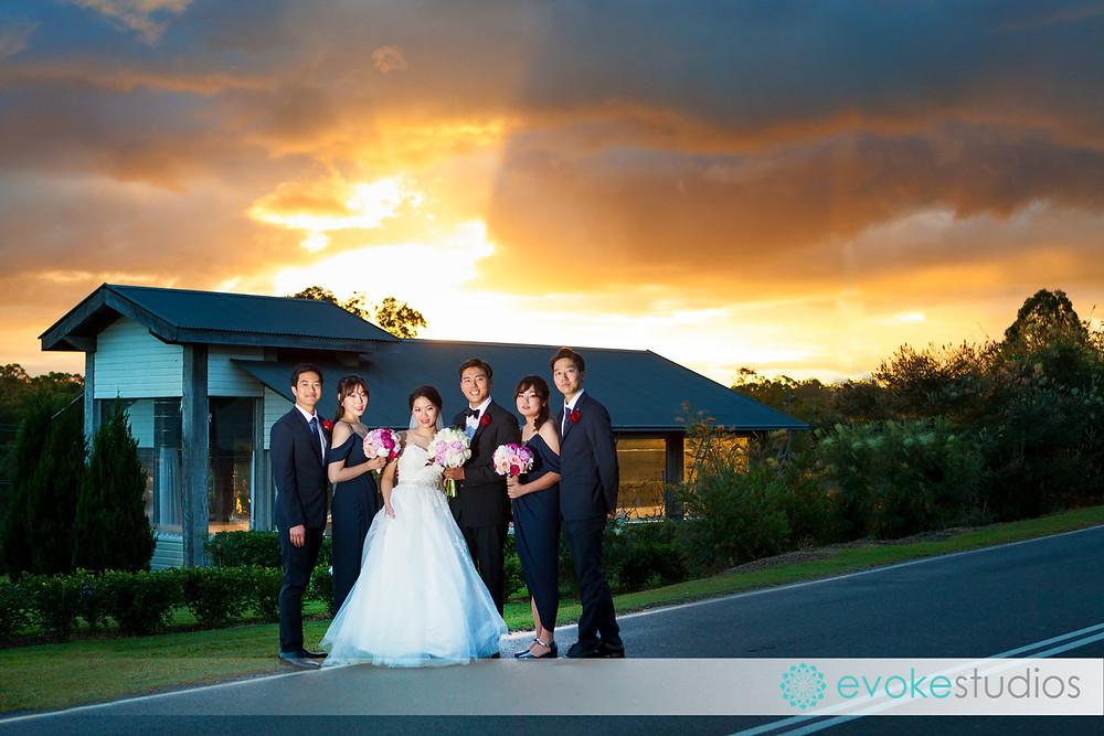 Wedding photographer sirromet winery