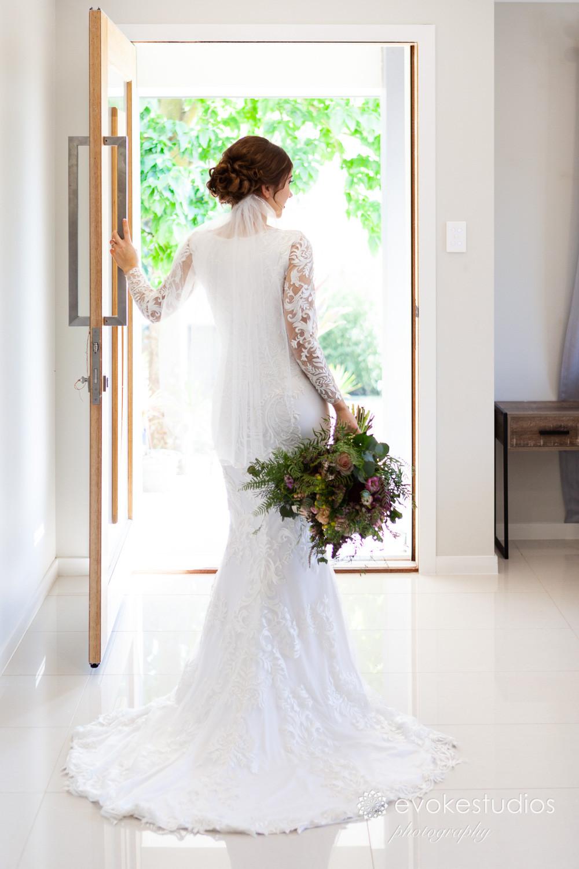 Bride wedding dress