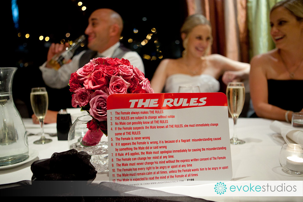 Rules for the perfect marriage