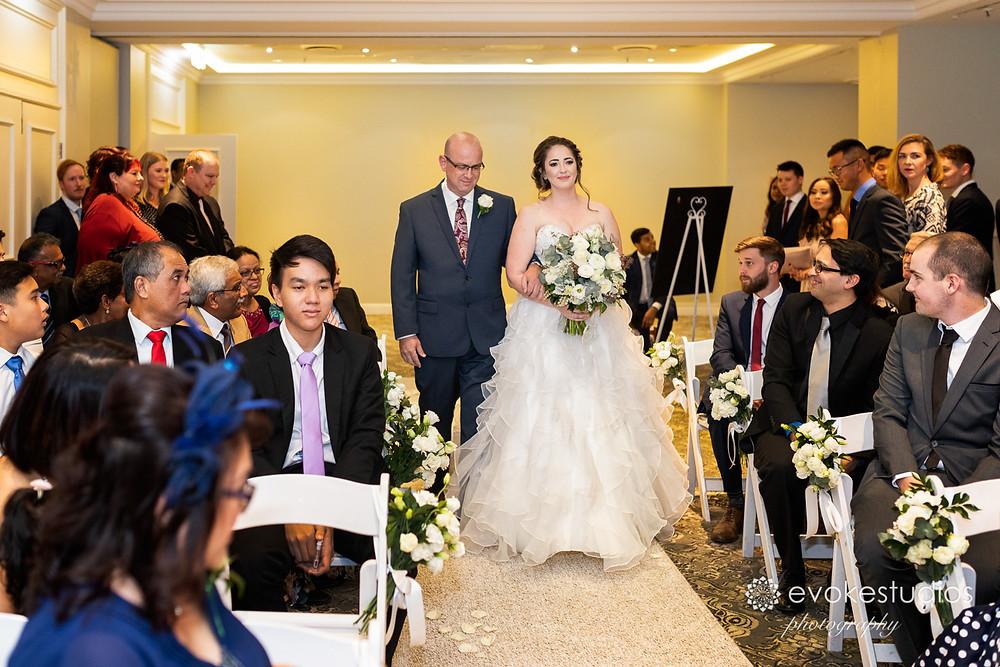Wedding ceremony stamford plaza