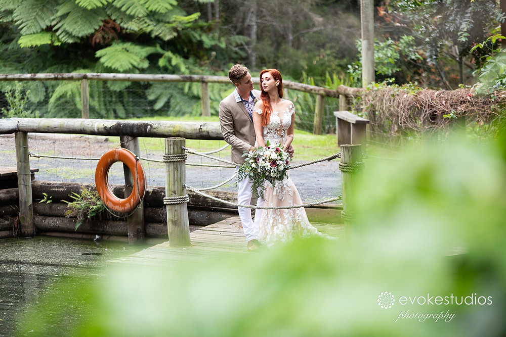 Rainforest gardens wedding photographer
