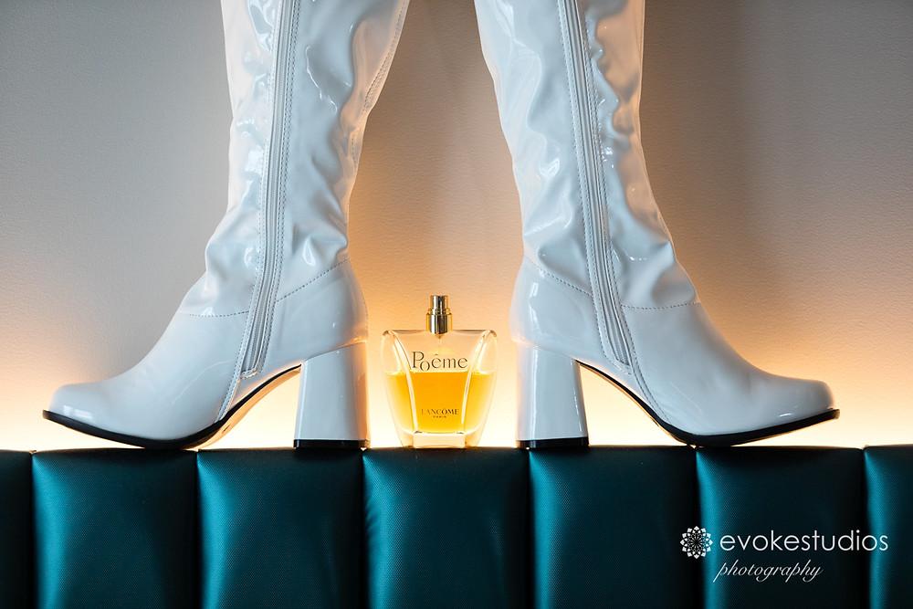 Wedding gogo boots