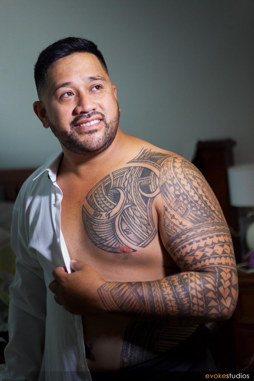 Samoan Groom
