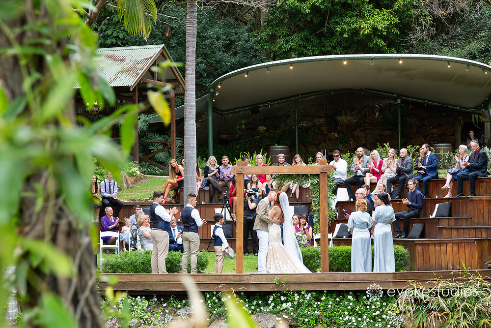 Mt cotton rainforest gardens wedding