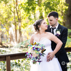 Matt & Michelle's MacAuthur Gardens Wedding