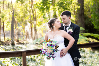 Matt & Michelle's MacAuthur Gardens Wedding