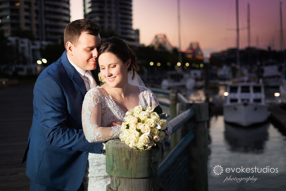 Romantic brisbane wedding photography