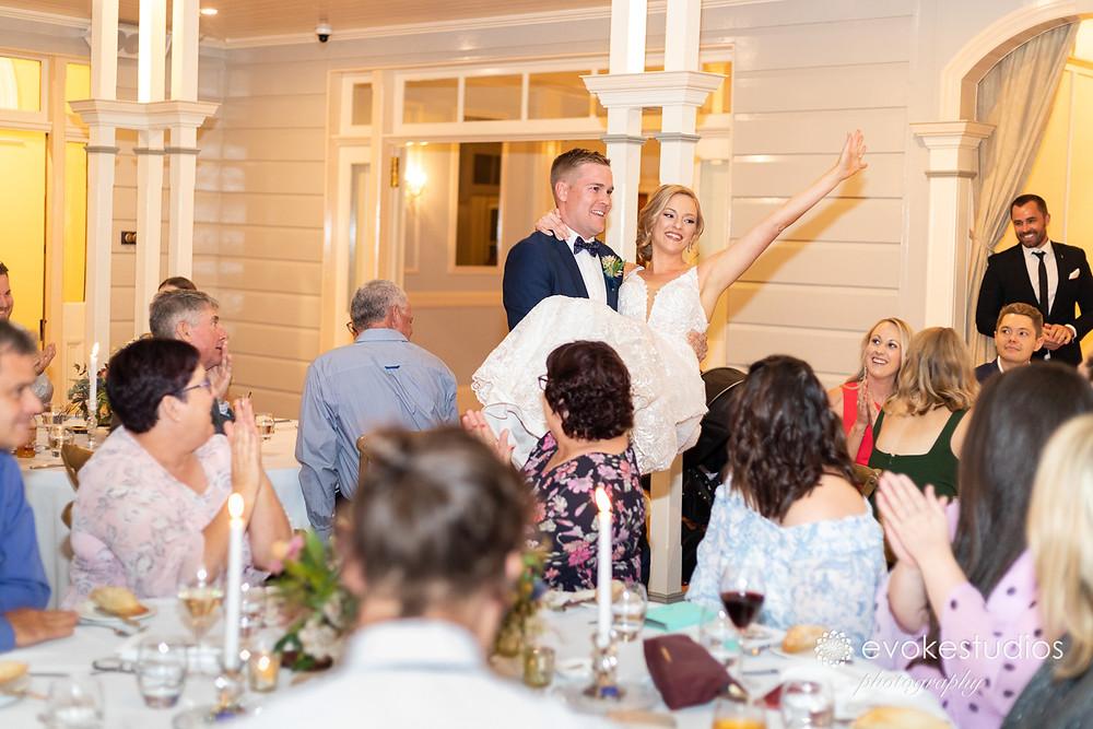 Gabbinbar wedding reception