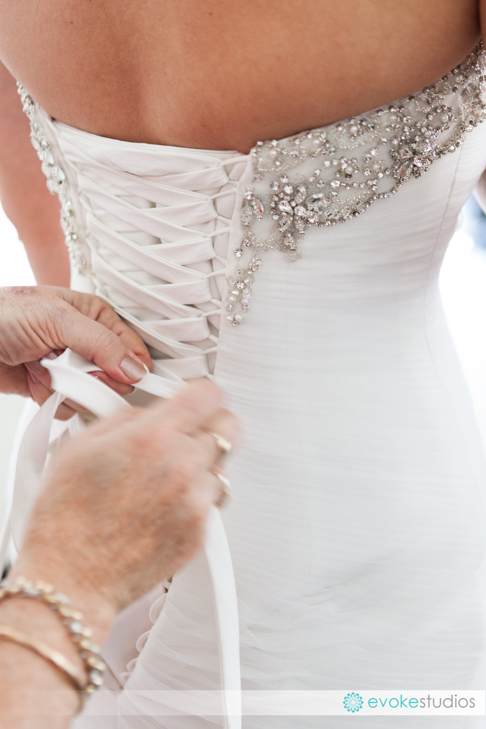 Lace up wedding guide