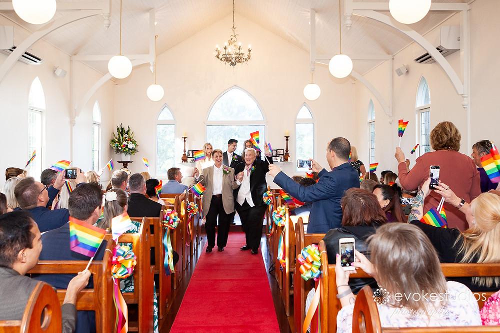 Same sex wedding ceremony