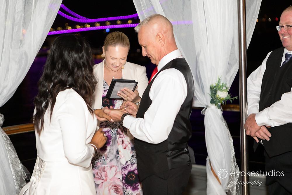Wedding ceremony kookaburra queen