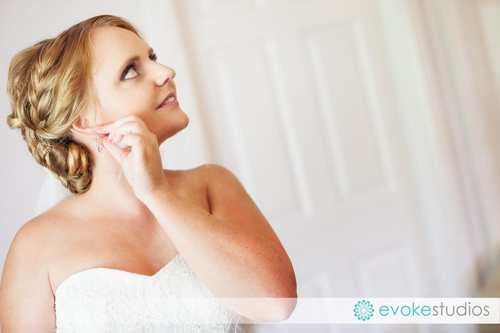 Brides earring