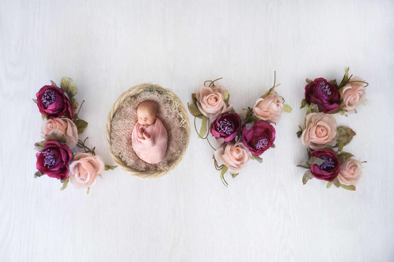 Newborn wedding photography