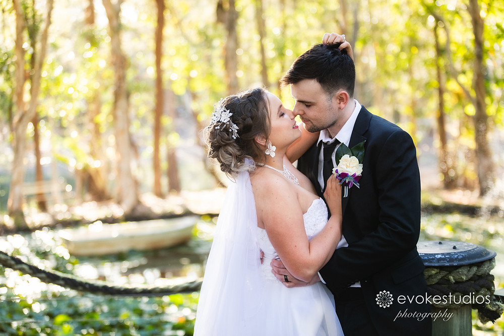 MacArthur Gardens wedding chapel photographer