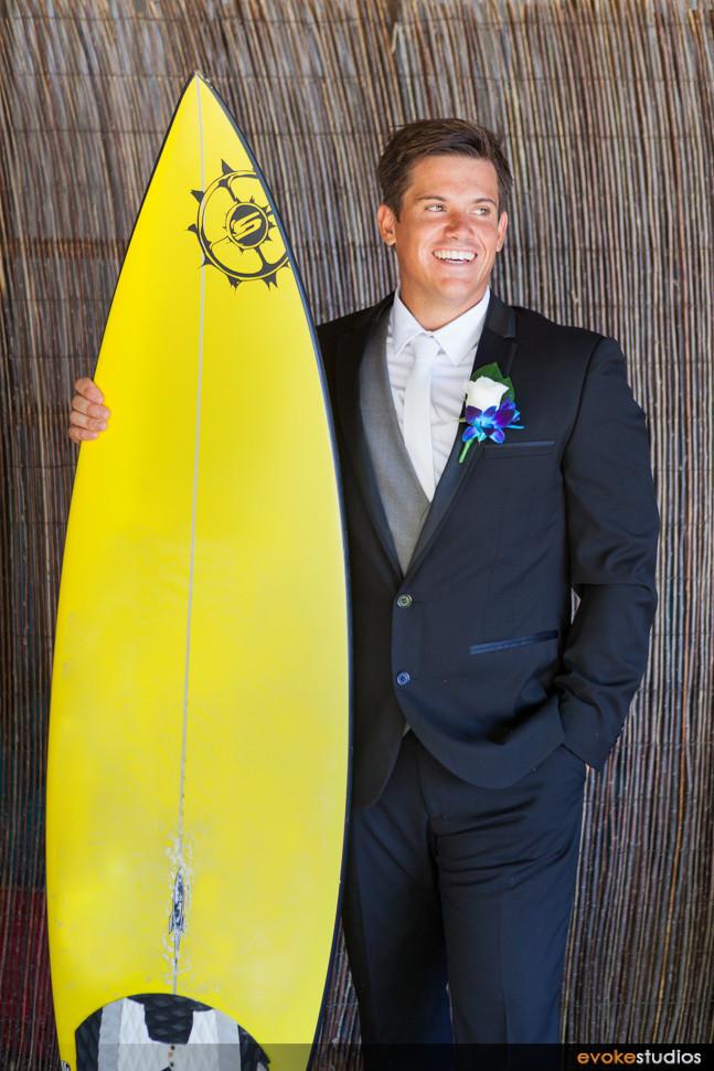 Wake board groom