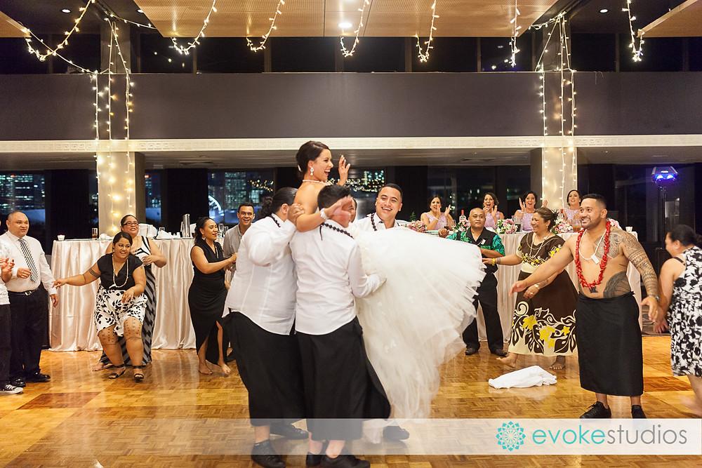 Samoan Dancing
