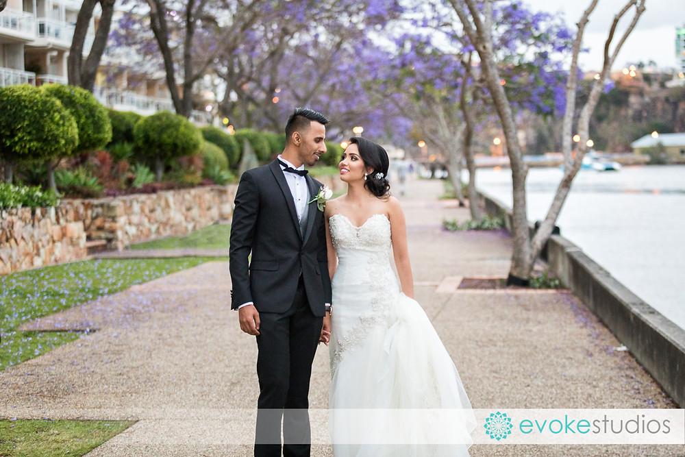 Dockside wedding photographer